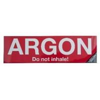 STICKER ARGON 30 X 9 CM