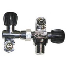 Вентиль двойной H valve 232bar