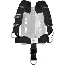 Harness TecLine Comfort (adjustable) incl. aluminum backplate (weight 1650g)