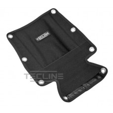 Backplate soft pad with buoy pocket - without bolts and nuts