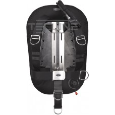 Donut 17 with adjustable DIR harness, built in mono adapter, weight pocket, tank belts & BP